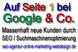SEO Agentur Online Marketing Webdesign