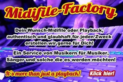 Midifiles & Playback Erstellung